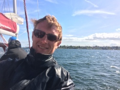 Sail training in Svendborgsund