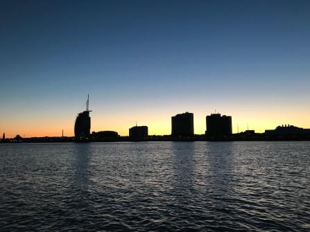 Skyline of Bremerhaven