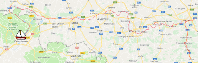 From Dinant to Valenciennes