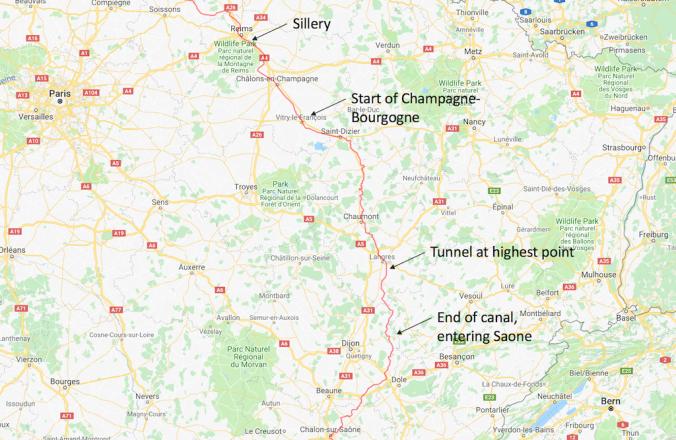 MapChampagneBourgogne