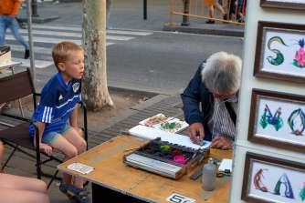 Mattis and Runa decided to buy an art piece each