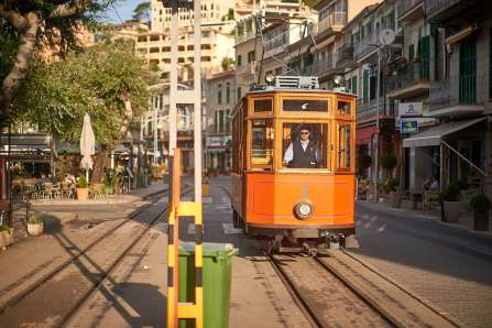 The tram to Soller