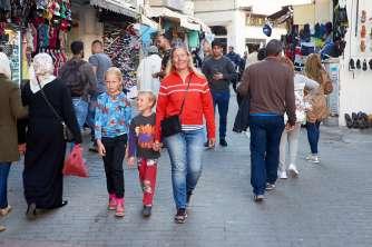 In the medina of Tangier