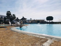 The pool at Marina Rubicon
