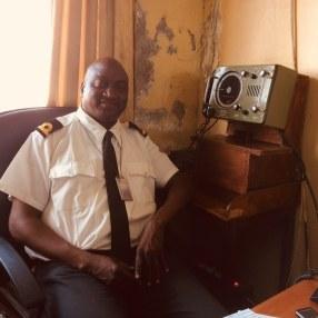 Pilot Gibbs, the boss