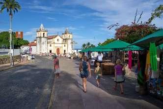 Churches are everywhere in Olinda