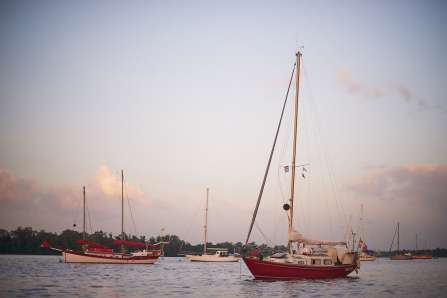The fleet in Suriname