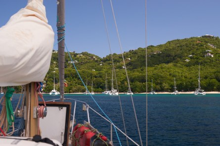 Bequia anchorage
