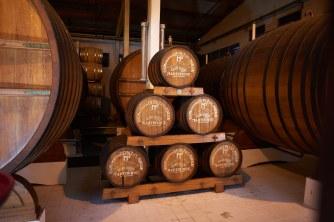 Aging rum
