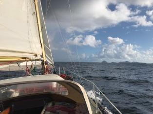 Towards Union Island