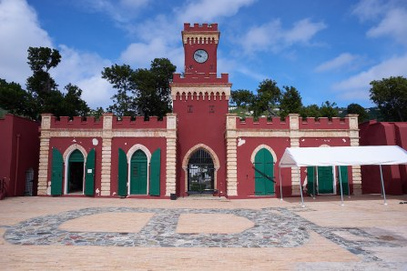 Fort Christian in Charlotte Amalie