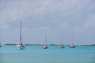 Staniel Cay anchorage